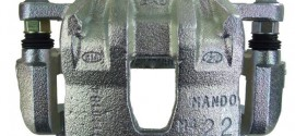 Суппорт тормозной передний левый Kia Rio (2011-2015)